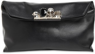 Alexander McQueen Skull Soft Leather Pouch