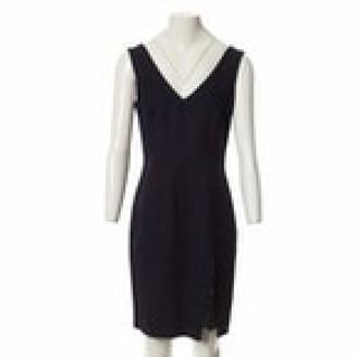 John Galliano Navy Dress for Women