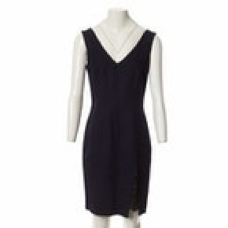 John Galliano Navy Viscose Dresses