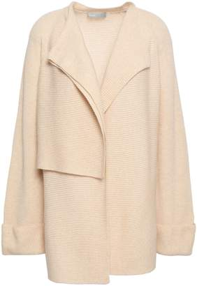 Vince Ribbed-knit Wool And Cashmere-blend Cardigan