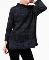Eileen Fisher Organic Linen-Cotton Sweater Tunic