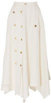 Loewe Multi Buttons A-Line Skirt