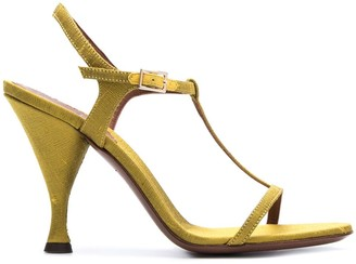 L'Autre Chose T-Bar ankle-strap sandals