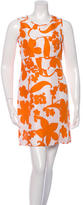 Tory Burch Silk Floral Print Dress