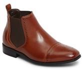 Stacy Adams Boy's Alomar Cap Toe Chelsea Boot