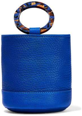 Simon Miller Bonsai 15 Textured-leather Bucket Bag