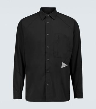 and wander Fleece long-sleeved shirt