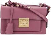 Salvatore Ferragamo small Gancio lock shoulder bag - women - Leather - One Size