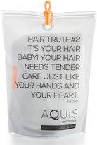 Aquis Luxe Hair Turban, White