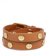 Tory Burch Women's Double Wrap Logo Bracelet