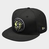 New Era Brooklyn Nets NBA Cyber Green 9FIFTY Snapback Hat