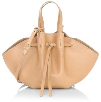 Nanushka Mini Lynne Convertible Leather Tote