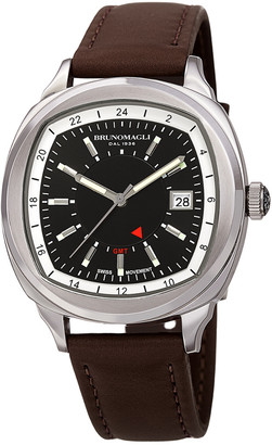 Bruno Magli Men's Leather Watch