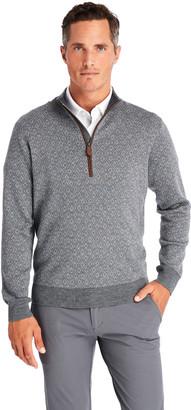 Vineyard Vines Ocean Avenue Patterned 1/2-Zip Sweater