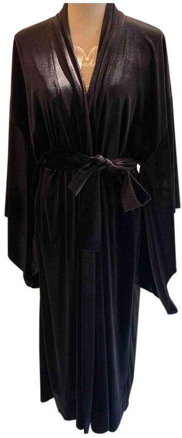 Thumbnail for your product : Norma Kamali Black Velvet Coats