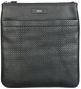 HUGO BOSS Leather Traveler_S Zip Bag