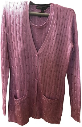Ralph Lauren Purple Silk Knitwear for Women
