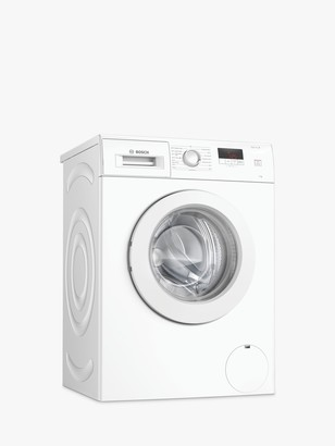 Bosch WAJ28008GB Freestanding Washing Machine, 7kg Load, A+++ Energy Rating, 1400rpm Spin, White