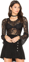 Band of Gypsies Lace Bodysuit