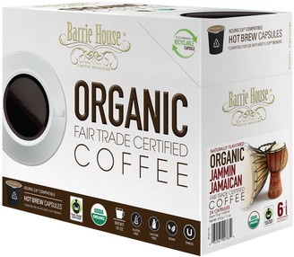 Barrie House Organic Jammin Jamaican Coffee Capsules, 24-Count