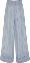 Solid & Striped Striped Wide-Leg Pants