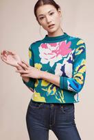 Monogram Laine Floral Pullover