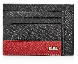 HUGO BOSS Men's Signature Card Case