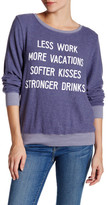 Wildfox Couture Resolutions Pullover