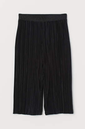 H&M Pleated Culottes - Black