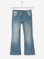 Vertbaudet Girls Flared Jeans