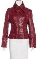 Karen Millen Leather Moto Jacket