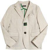 Tagliatore Junior Cotton Seersucker Jacket