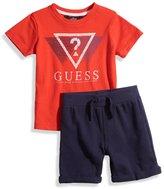GUESS Logo Tee and Shorts Set (12-24m)