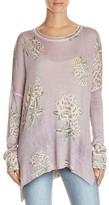 Show Me Your Mumu Bonfire Floral Patterned Sweater