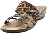 Easy Street Shoes Atessa Women Open Toe Canvas Slides Sandal.