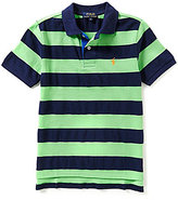Ralph Lauren Big Boys 8-20 Rugby-Stripe Mesh Polo Shirt