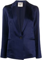Semi-Couture Semicouture single-breasted fitted blazer