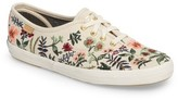 Keds Women's X Rifle Paper Co. Herb Garden Embroidered Sneaker