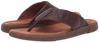 Clarks Vine Oak (Mahogany Leather) Men's Sandals