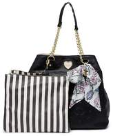 Betsey Johnson Quilted Trap Tote