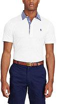 Polo Ralph Lauren Lisle Jersey Short-Sleeve Solid Polo Shirt
