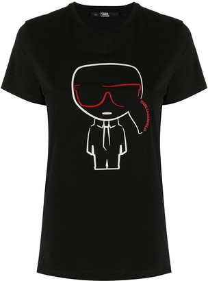 Karl Lagerfeld Paris Ikonik outline T-Shirt