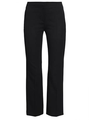Alexander McQueen Wool Cigarette Trousers