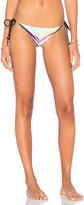 Pilyq Detail Side Tie Teeny Bikini Bottom