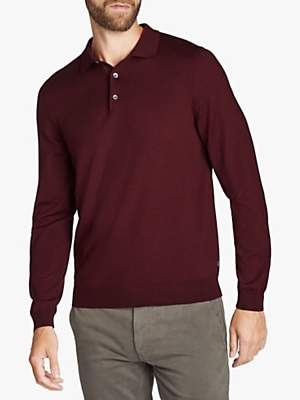 HUGO BOSS BOSS Bono Long Sleeve Polo Shirt