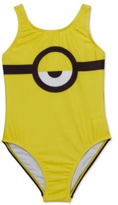 Minions Girl 4-6x One-Piece Swimsuit