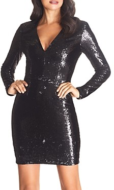 Dress the Population Shauna Sequined Body-Con Dress - 100% Exclusive