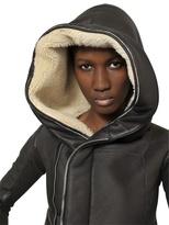 Rick Owens Hooded Shearling Jacket