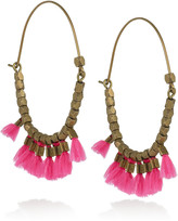 Isabel Marant The Who brass hoop earrings