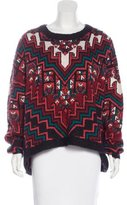 Mara Hoffman Wool-Blend Oversize Sweater w/ Tags